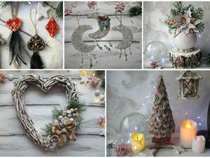 5 идей новогоднего декора. Ярмарка Мастеров - ручная работа, handmade.