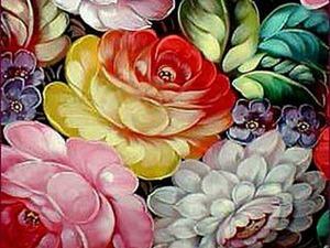"""""""Нет в мире ничего нежней и краше, чем этот сверток алых лепестков...""""  Розы на подносах. Ярмарка Мастеров - ручная работа, handmade."""