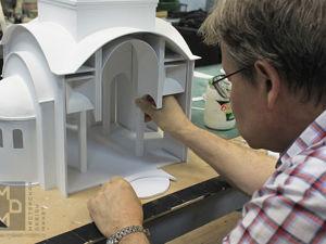 Сборно-разборный макет храма. Ярмарка Мастеров - ручная работа, handmade.