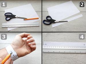 Как измерить обхват запястья. Ярмарка Мастеров - ручная работа, handmade.