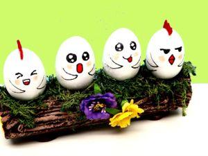 Пасхальные поделки своими руками — Подставка для яиц. Ярмарка Мастеров - ручная работа, handmade.