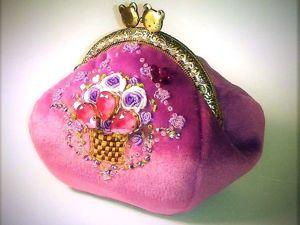 Шьем очаровательный кошелек в винтажном стиле. Ярмарка Мастеров - ручная работа, handmade.