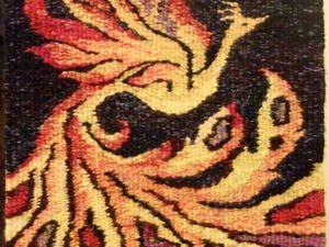Ткем гобелен «Жар-птица». Ярмарка Мастеров - ручная работа, handmade.