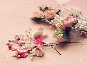Создаем украшения в виде цветочков. Ярмарка Мастеров - ручная работа, handmade.