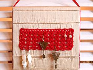 Панно-органайзер для бижутерии.. Ярмарка Мастеров - ручная работа, handmade.
