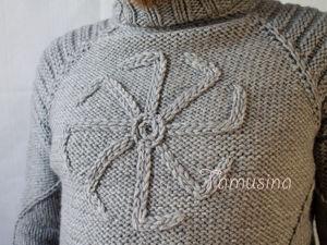 Скоро в магазине  свитер «Навстречу солнцу или Коловрат». Ярмарка Мастеров - ручная работа, handmade.