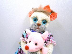 Котенок Бедная Настя. Ярмарка Мастеров - ручная работа, handmade.