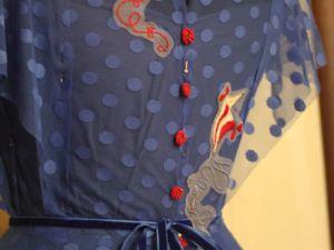Морское круизное платье мечты. Ярмарка Мастеров - ручная работа, handmade.