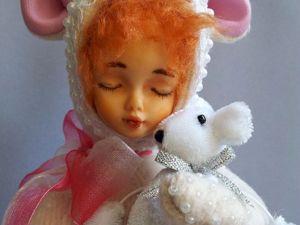 Моя первая кукла тедди-долл. Ярмарка Мастеров - ручная работа, handmade.