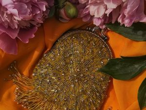 Сумочка  «Злата». Ярмарка Мастеров - ручная работа, handmade.