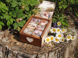 Набор кубиков  «6 сказок Лисьего Леса». Ярмарка Мастеров - ручная работа, handmade.
