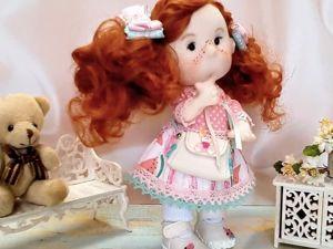 Скидки на куклу от Бусинка. Ярмарка Мастеров - ручная работа, handmade.