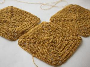 Новый платок в работе из пряжи шерсть ягненка мериноса. Ярмарка Мастеров - ручная работа, handmade.