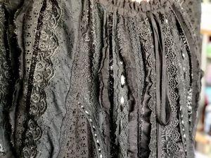 Платье Арабелла чёрное. Ярмарка Мастеров - ручная работа, handmade.
