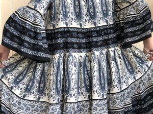 Новое платье — Лолита с серыми пейсли. Ярмарка Мастеров - ручная работа, handmade.
