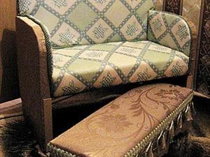 Новый диванчик из старого шкафчика. Ярмарка Мастеров - ручная работа, handmade.