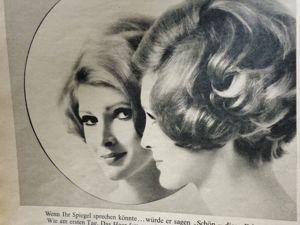 Журнал  «Бурда»  1968-го года. Продолжаем путешествие. Ярмарка Мастеров - ручная работа, handmade.