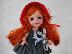 Красная шапочка в моём исполнении). Ярмарка Мастеров - ручная работа, handmade.