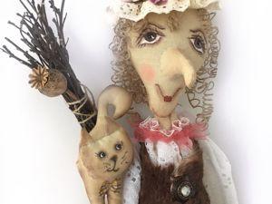 Баба яга Клавушка!. Ярмарка Мастеров - ручная работа, handmade.