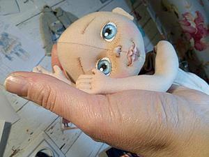 Создание личика текстильной куклы. Ярмарка Мастеров - ручная работа, handmade.
