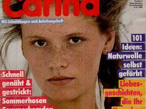 Carina Burda 7 1982 (июль). Ярмарка Мастеров - ручная работа, handmade.