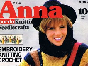 Журнал Anna № 10/1984. Фото работ. Ярмарка Мастеров - ручная работа, handmade.