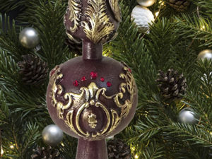 Делаем новогоднее украшение «Макушка» на ёлку. Ярмарка Мастеров - ручная работа, handmade.