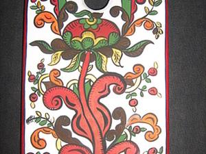 Расписываем по дереву - борецкое Древо Жизни. Ярмарка Мастеров - ручная работа, handmade.