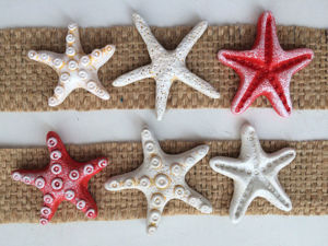 How to Make Starfish for Decoration of Cold Porcelain. Livemaster - handmade
