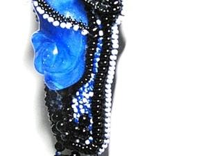 """Не традиционный подход к созданию  украшений из бисера на примере кулона «Модный приговор"""". Ярмарка Мастеров - ручная работа, handmade."""