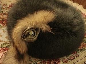 Как увеличить размер меховой шапки. Ярмарка Мастеров - ручная работа, handmade.