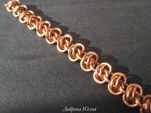 Мастер-класс: осваиваем кольчужное плетение «Barrel». Ярмарка Мастеров - ручная работа, handmade.