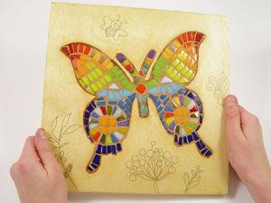 Декорируем подставки под горячее в технике мозаики. Ярмарка Мастеров - ручная работа, handmade.