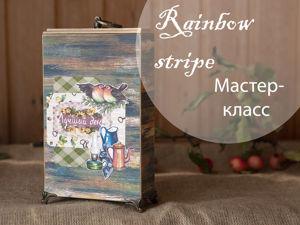 Мастер-класс по изготовлению фотопапки  «Дачные воспоминания». Ярмарка Мастеров - ручная работа, handmade.