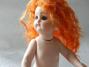 Реплика антикварной куклы French RD 20 см. Ярмарка Мастеров - ручная работа, handmade.