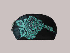 Машинная вышивка на натуральной коже: видеоурок. Ярмарка Мастеров - ручная работа, handmade.