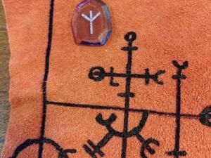 Заготовки для рунического набора и рунического полотна. Ярмарка Мастеров - ручная работа, handmade.