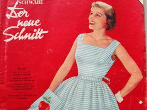 Der Neuer Schnitt — старый немецкий журнал мод -5/1957. Ярмарка Мастеров - ручная работа, handmade.