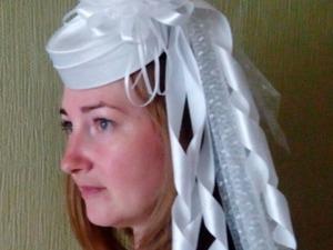 Как сделать свадебную шляпку-таблетку. Ярмарка Мастеров - ручная работа, handmade.