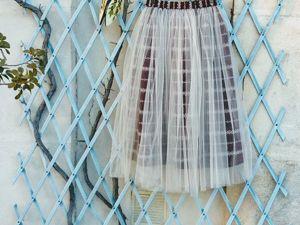 ЗАКРЫТ! Аукцион с нуля на фатиновую юбку. Ярмарка Мастеров - ручная работа, handmade.