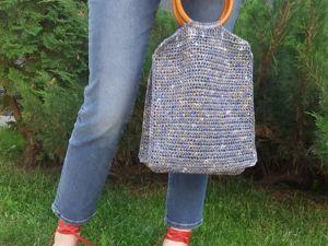 Моя первая сумка. Ярмарка Мастеров - ручная работа, handmade.