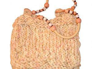 Мастер-класс по созданию вязаной женской сумки. Ярмарка Мастеров - ручная работа, handmade.