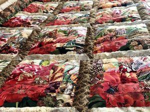 Шьем лоскутное одеяло в технике «Акварель» часть 2. Ярмарка Мастеров - ручная работа, handmade.