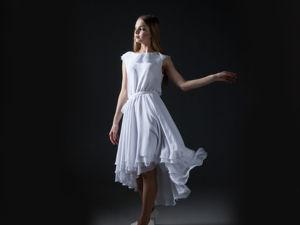 Классика гардероба Белое платье. Ярмарка Мастеров - ручная работа, handmade.