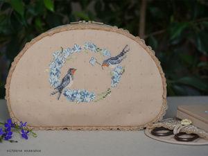 Шкатулка для рукоделия. Ярмарка Мастеров - ручная работа, handmade.