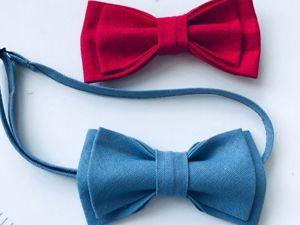 Как сшить  галстук-бабочку легко. Ярмарка Мастеров - ручная работа, handmade.