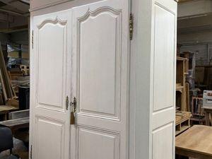 Переделка и декорирование огромного антикварного шкафа с эффектом состаривания. Ярмарка Мастеров - ручная работа, handmade.