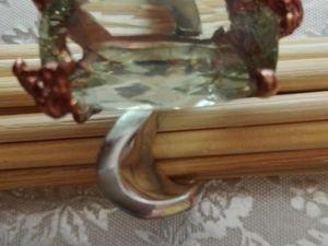 Видео Кольцо зеленый аметист серебро. Ярмарка Мастеров - ручная работа, handmade.