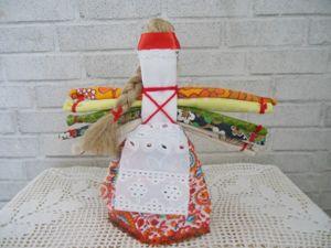 Мастер-класс по изготовлению народной куклы Десятиручка. Ярмарка Мастеров - ручная работа, handmade.