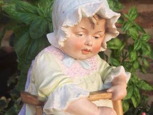 Что нужно знать о старинных бисквитных детских фигурках. Ярмарка Мастеров - ручная работа, handmade.